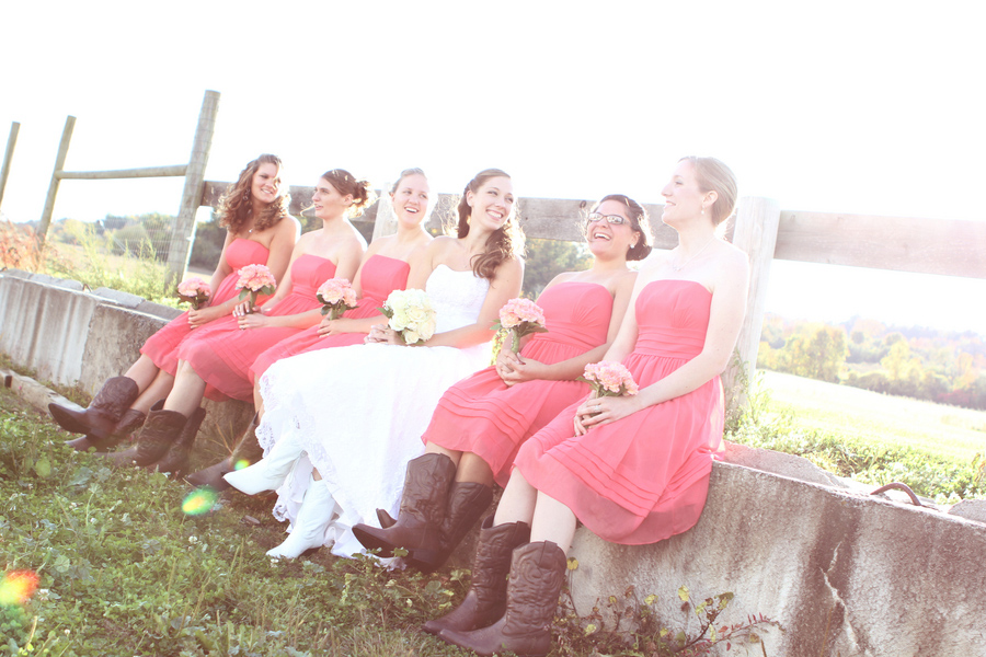 bridal party boots, wedding boots