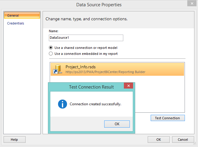 How To Create Report For Project Detailed Page With Report Builder