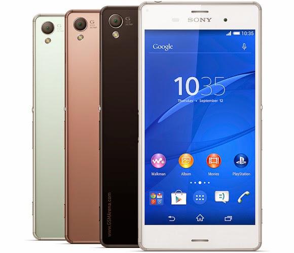 Spesifikasi Tablet Sony Xperia Z3 Compact