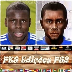 Kurt Zouma (Chelsea) PES PS2