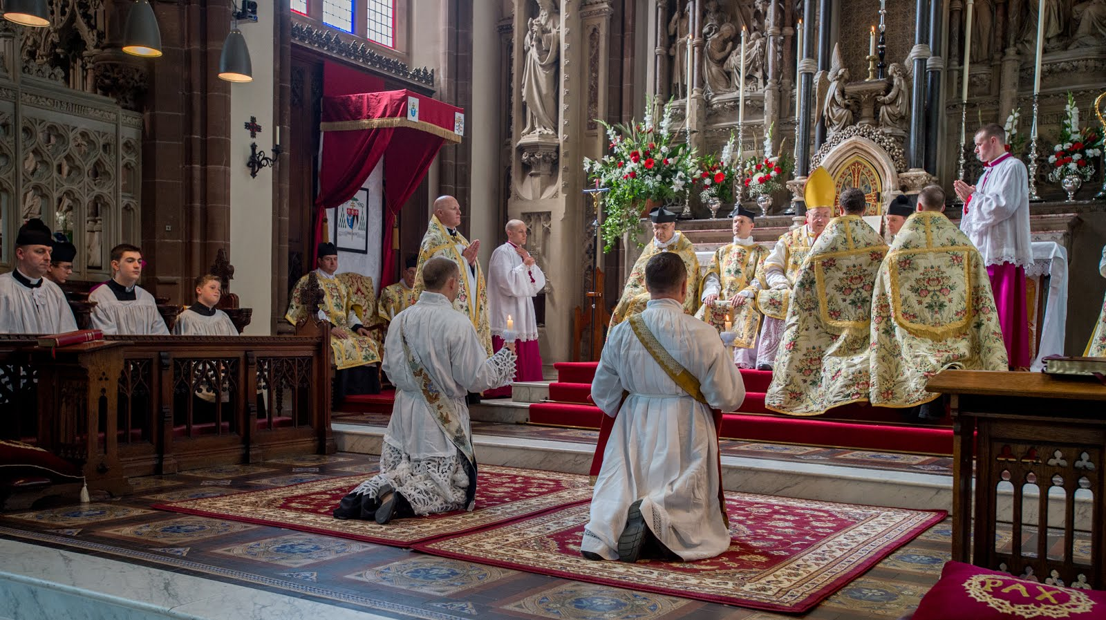 Click for the FSSP England Traditional Ordination Photographs St. Mary's Shrine Warrington