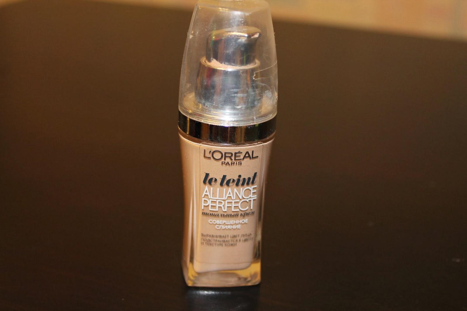 loreal тональный крем сияние