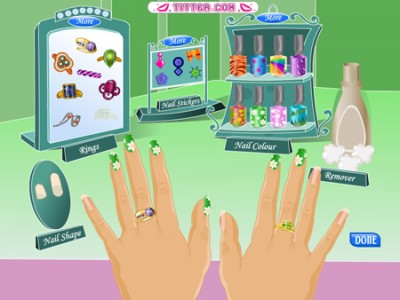 Nail Design Game for Girls 1.0 App Screenshots - Nail Designs Games For Girls Free Nail Designs, Hair Styles