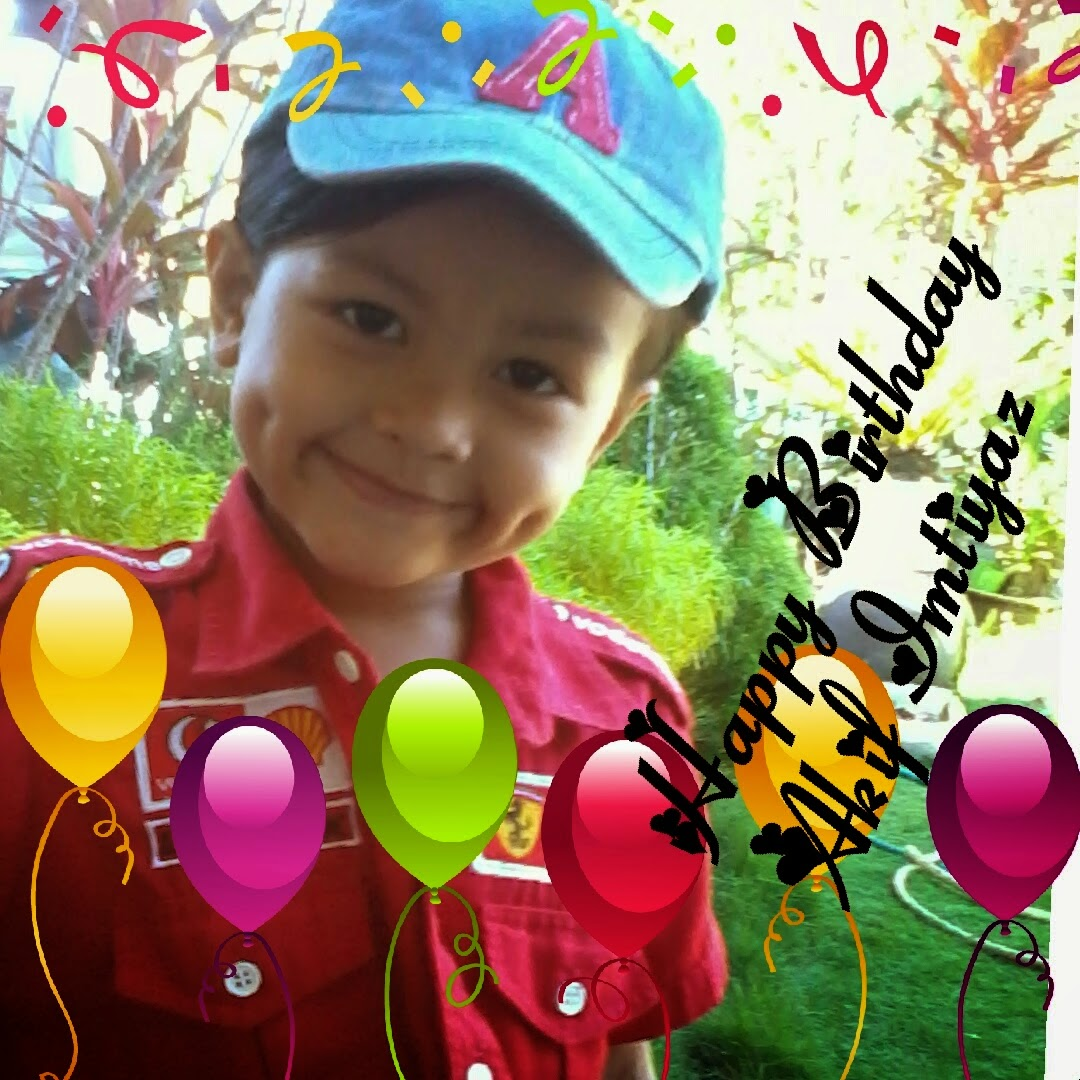 HAPPY BIRTHDAY AKIF IMTIYAZ~!