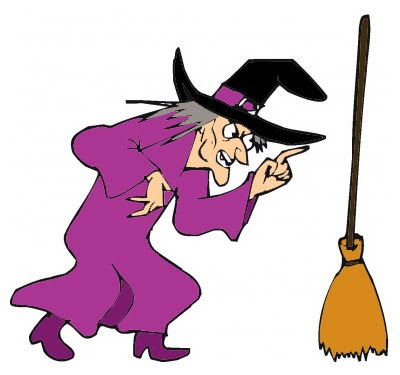 The witch and the broom
