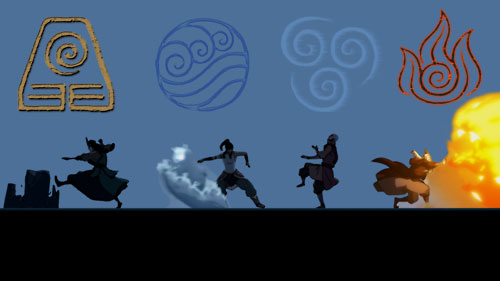 the legend of korra opening element