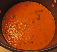 roasted tomato basil marinara sauce