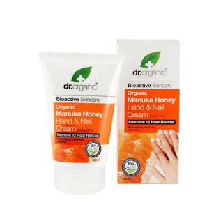 Crema de manos de miel Manuka Dr. Organic