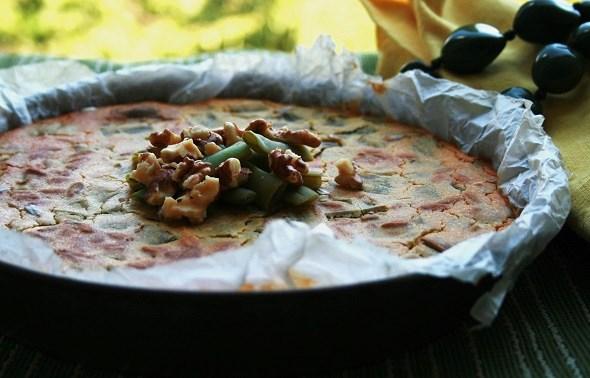 farinata di fagiolini