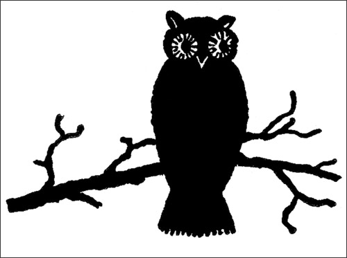 My Owl Barn: DIY: Halloween Owl Art