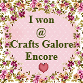 Crafts Galore Encore Winner