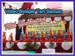 Video Penampilan Tari Saman