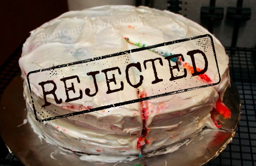 Rainbow Cake Wreck by BentOnBetterLunches