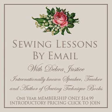 "Sewing Lessons By Email ~ Delivered to your ""In Box."""