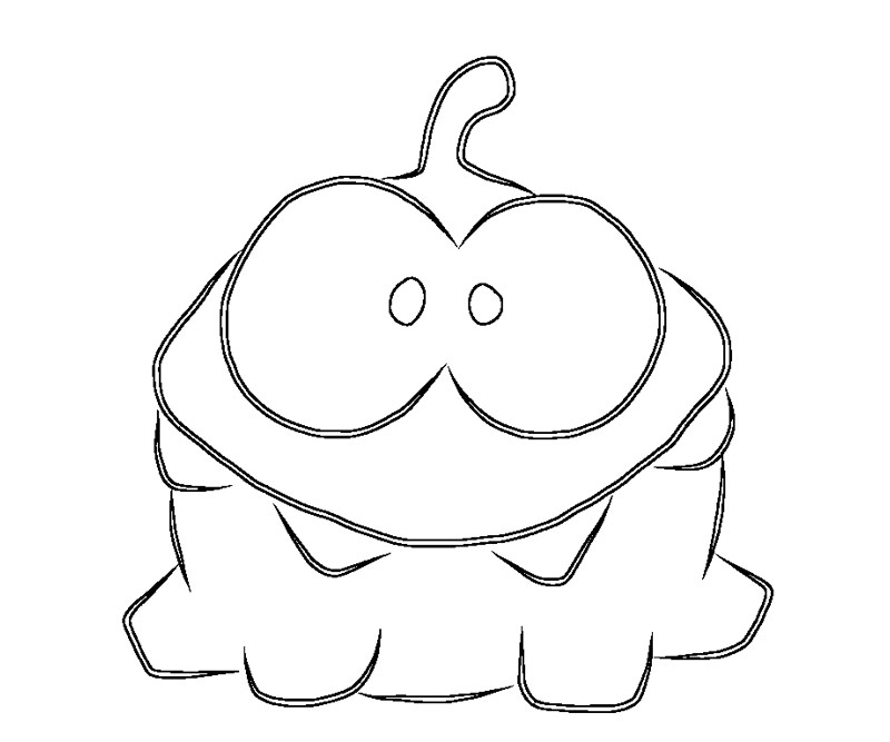 Free coloring pages of cut the rope 2