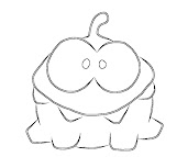 #3 Cut The Rope Coloring Page