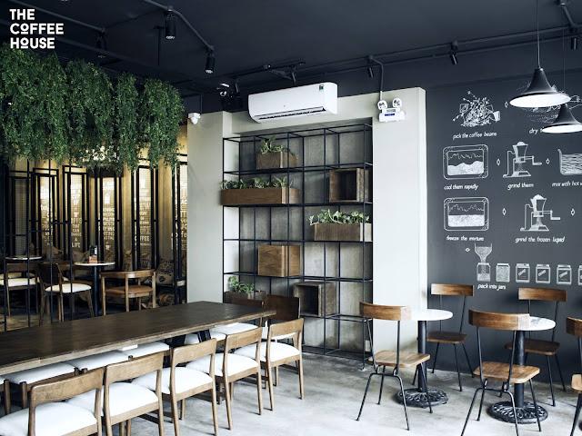 The Coffee House được thiết kế trẻ trung , năng động