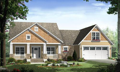 Home Cottage On House Plans Com Perfect For A Smaller Home With All