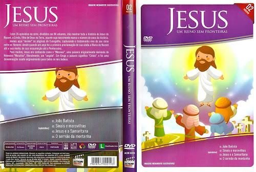 Jesus - Um Reino Sem Fronteiras Vol. 2 - DVD-R