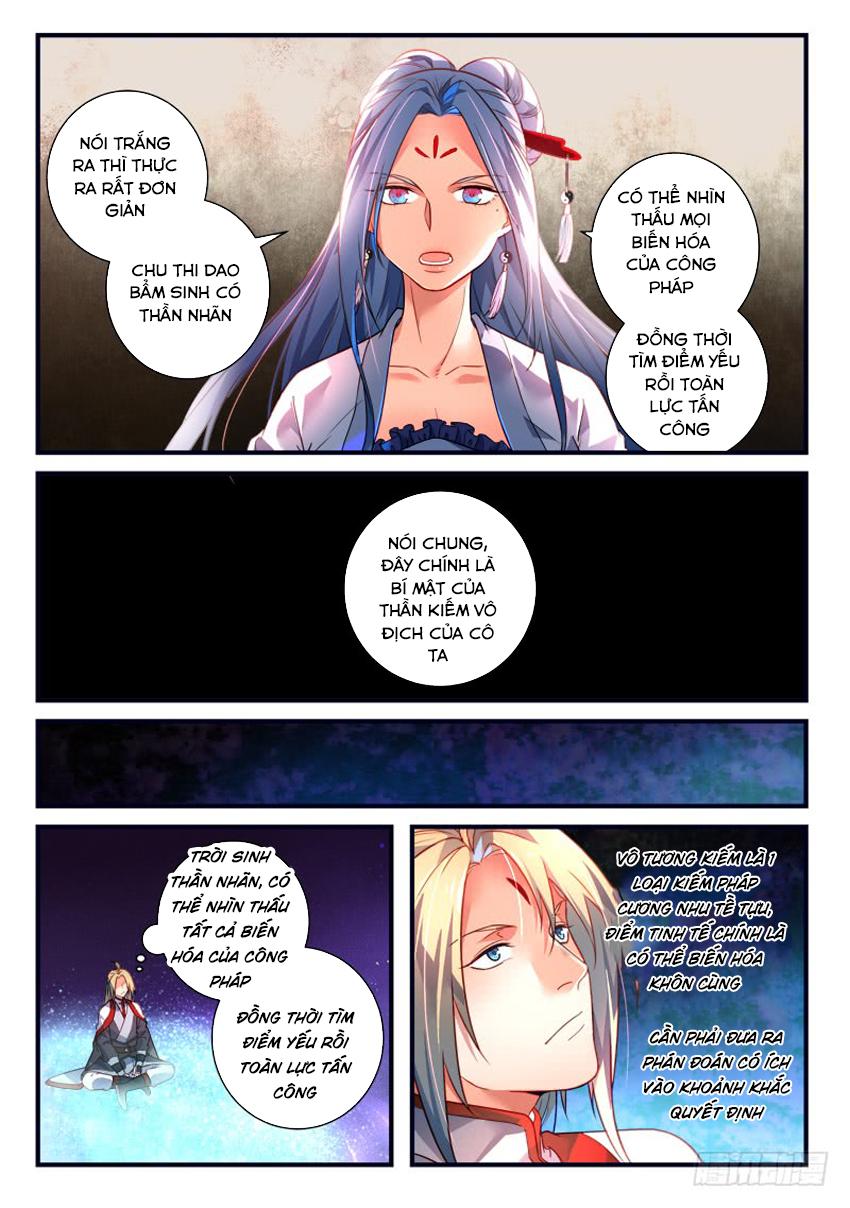Tung Tiền Hữu Tọa Linh Kiếm Sơn Chap 365 - Trang 7