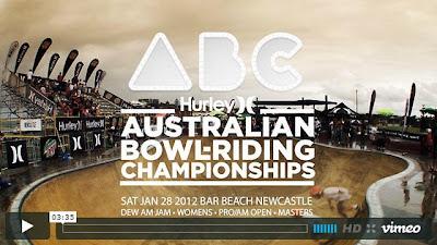 Hurley Australian Bowlriders Championships skate video