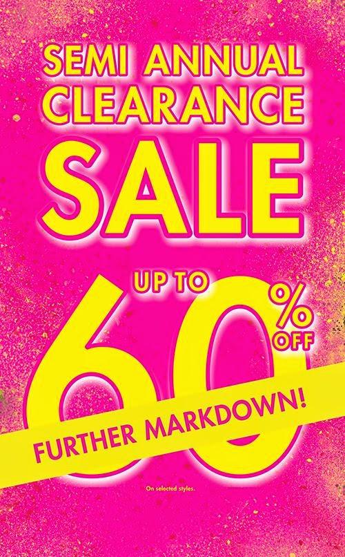 451dbd645f Manila Shopper  La Senza Semi-Annual SALE on Further Markdown  July 2014