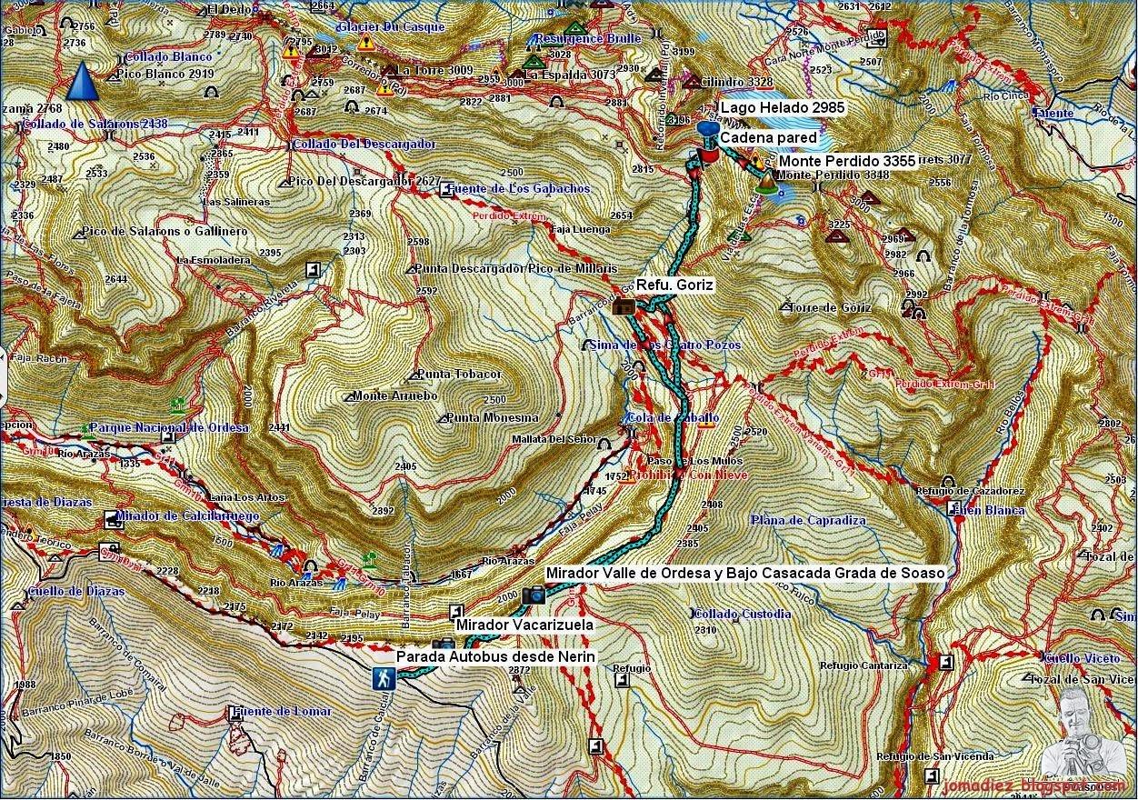 Nerin Spain  city images : ... Pirenaicos por jomadiez: Monte Perdido 3355m. desde Nerin autobus