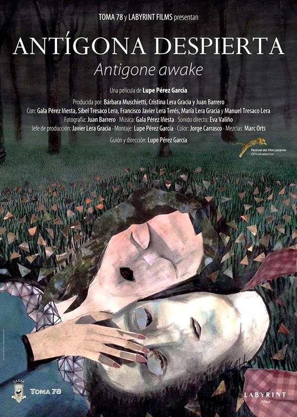 Póster: Antígona despierta