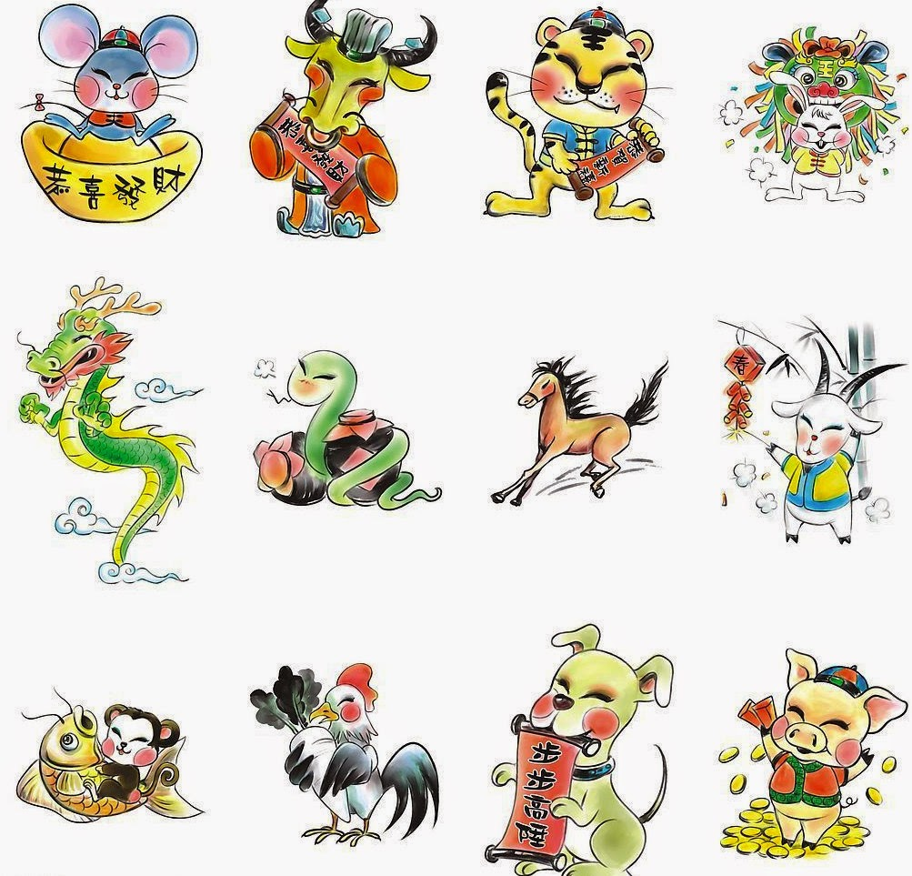 iChineseLearning Official Blog : Chinese zodiac animals and their ...