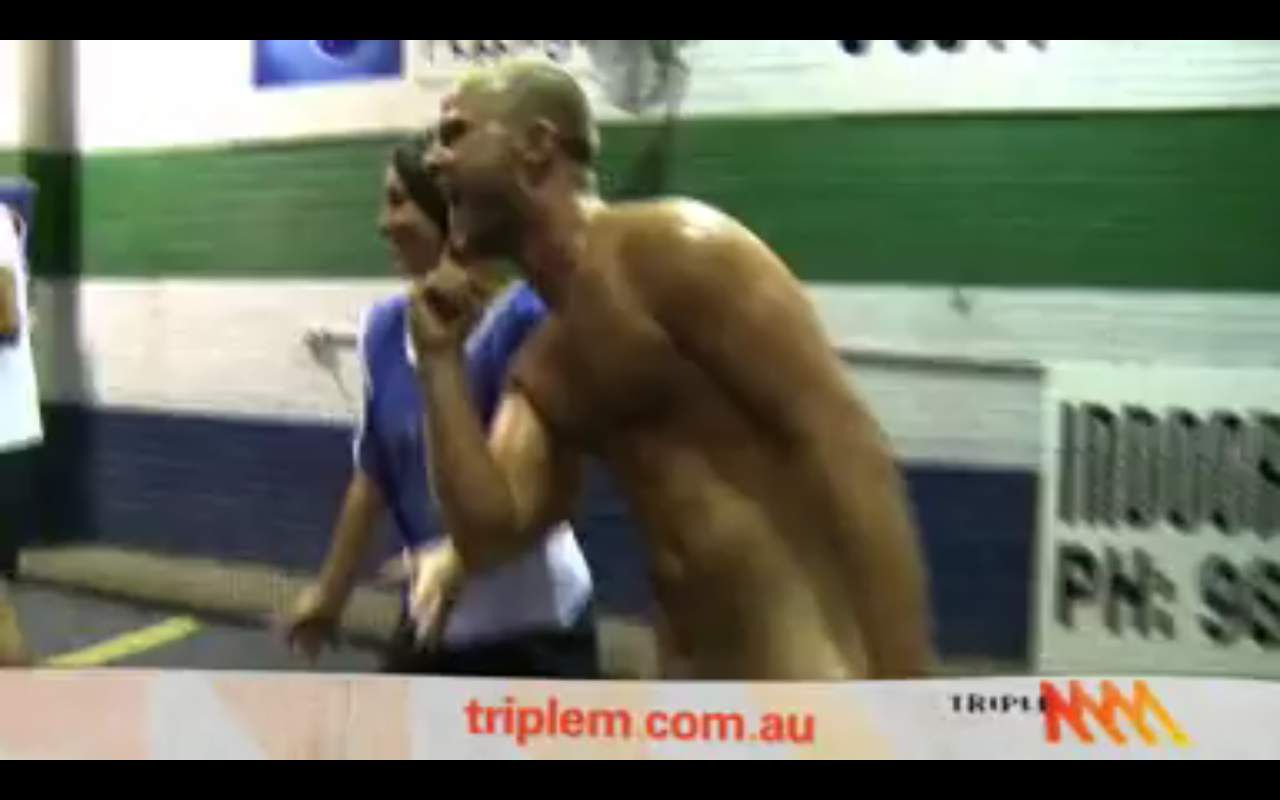 Oliver Streaking In Triple M Petition