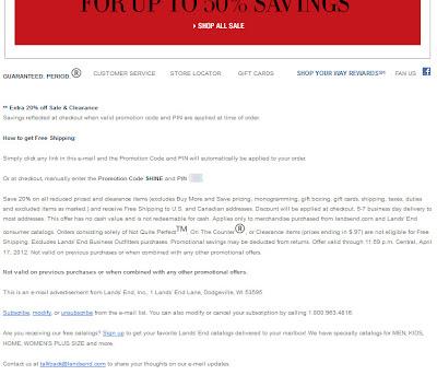 Apr. 17, 2012 Lands' End email
