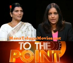 Laxmi Parvathi interview in To The Point by Swapna