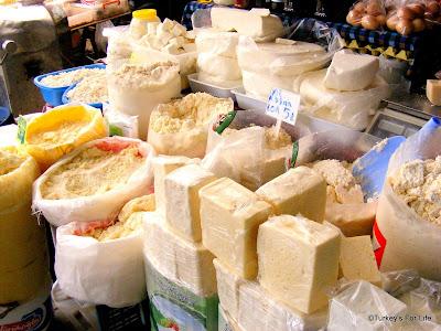 Cheese Stall, Çiftlik Market, Fethiye