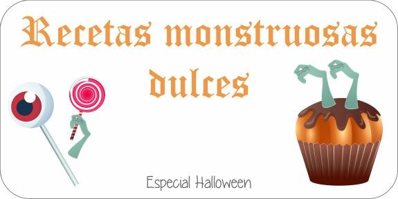 Recetas monstruosas dulces - Niña Bonita