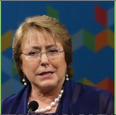 """Bachelet insiste en que hay una """"campaña del terror"""" contra la Reforma Educacional"""