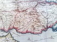 در سال 1692 میلادی نقشه مستقل بلوچستان