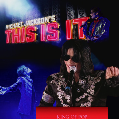 Michael Jackson's – This is it - This is it – The documentary on the making of Michael Jackson's last tour before his death on 25 June 2009.
