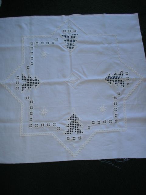 Ria's creaties: Les geven in Hardanger borduren