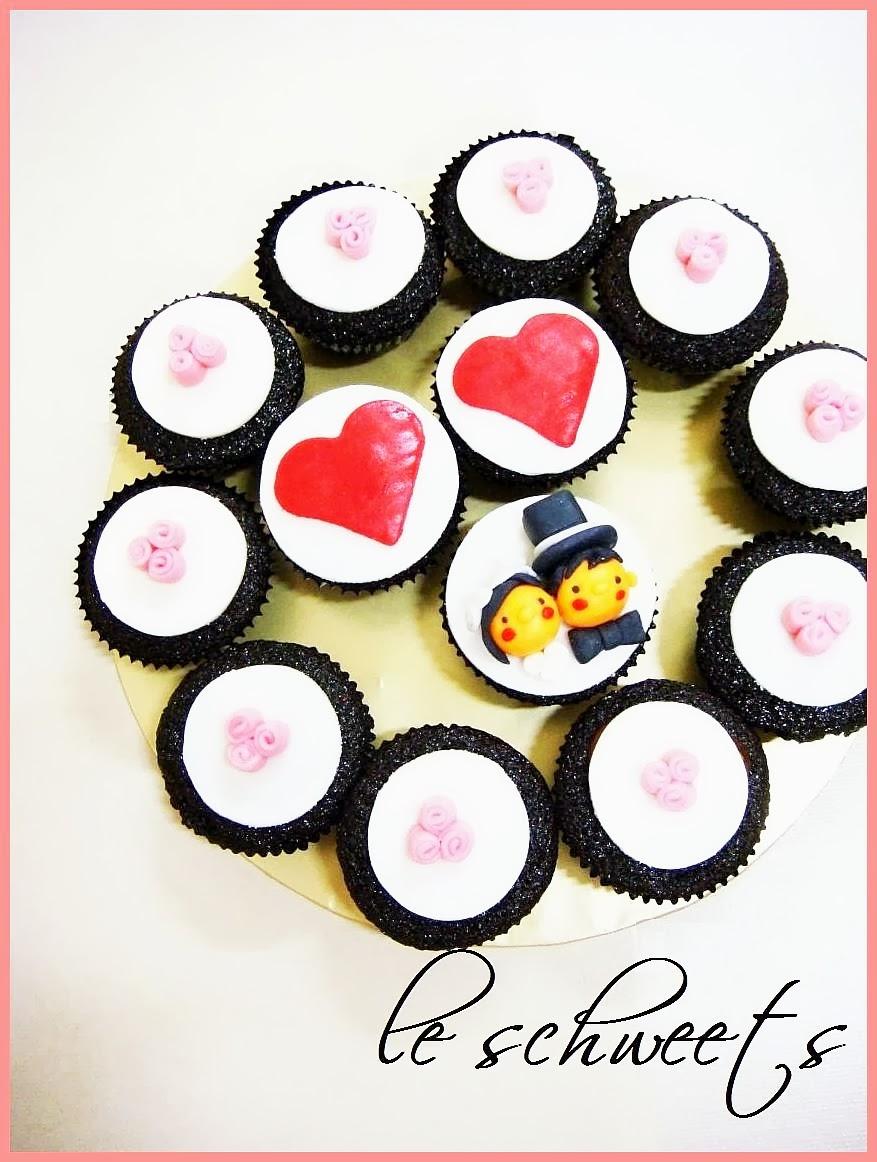 3D: Wedding Cupcakes