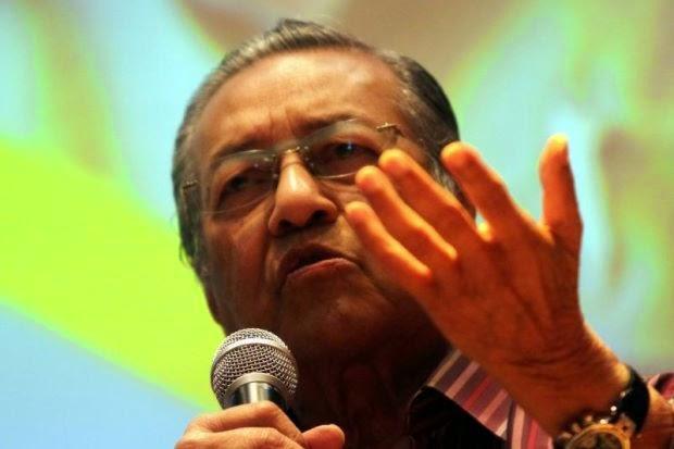 Tun Mahathir Tegur Najib