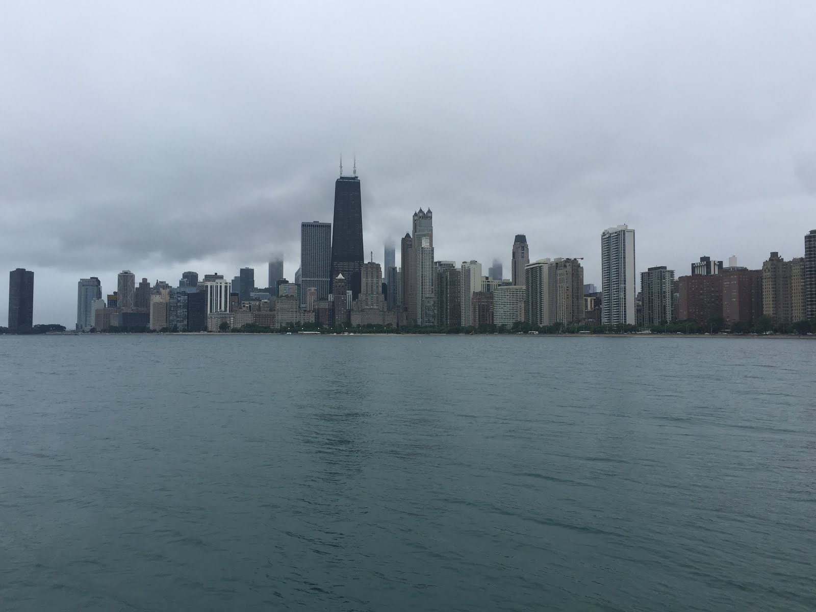 Windy City on a cloudy day