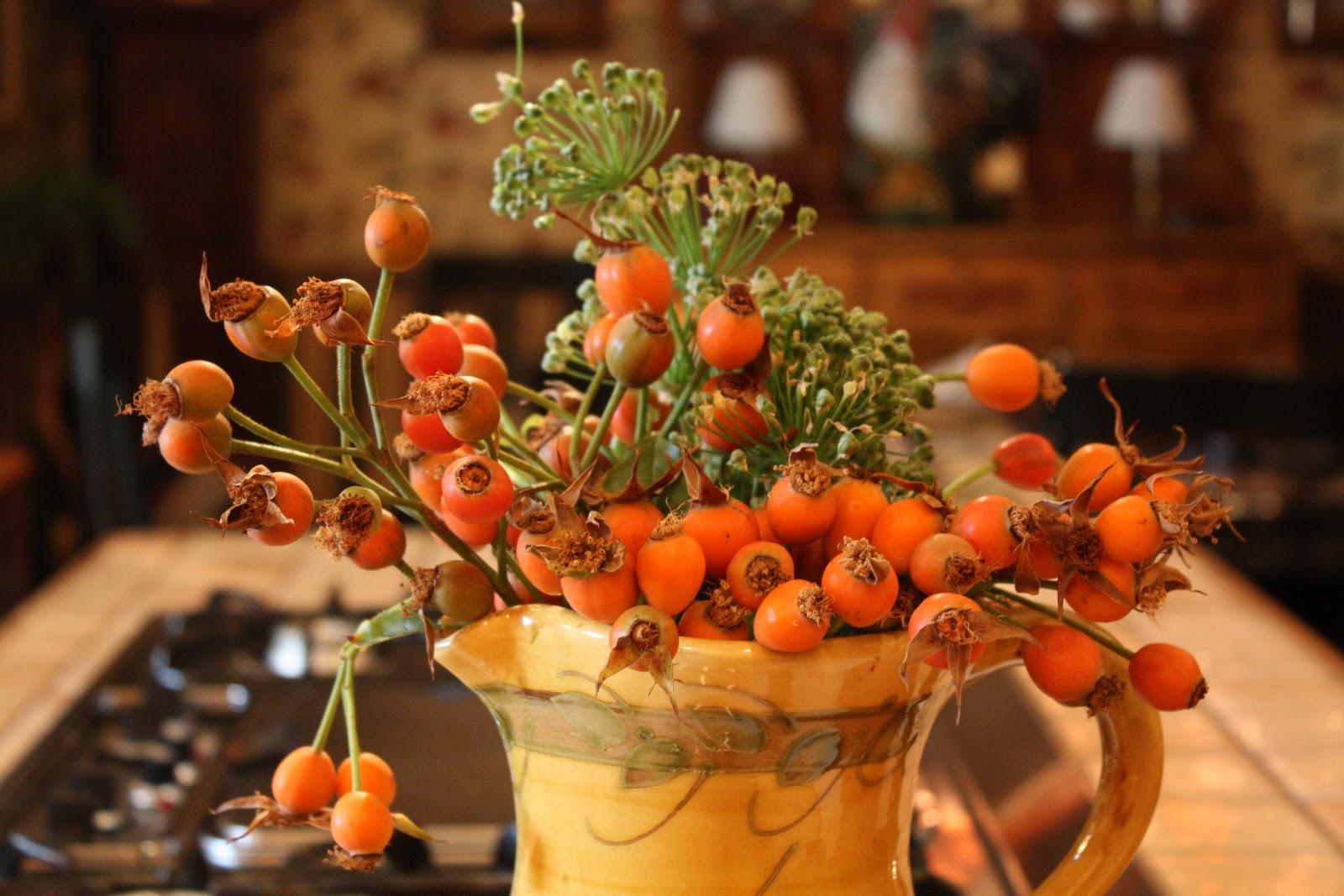 Autumn Flowers Garden Wendys Hat