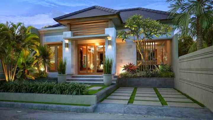 Rumah minimalis gaya Bali