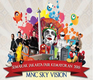 Promo Indovision Jakarta Fair Kemayoran 2015