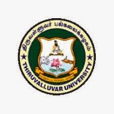Thiruvalluvar University Results Nov Dec 2014
