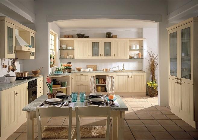 Home Sweet Home Kuchnia rustykalna biała -> Kuchnia Rustykalna Inspiracje