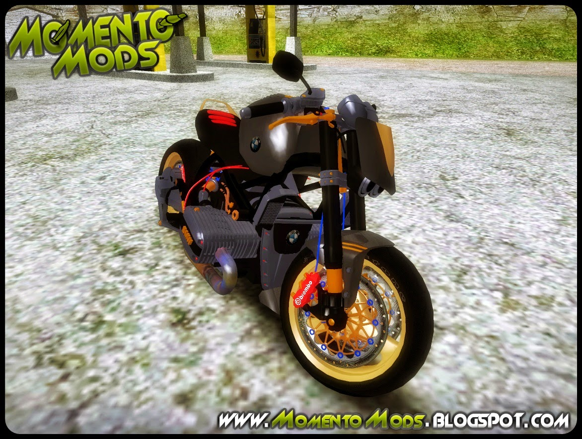GTA SA - BMW R1100R Naked