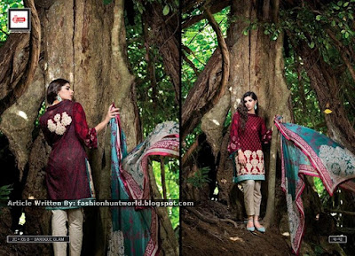 Zainab Chottani Eid Collection 2015 By Lakhany Silk Mills