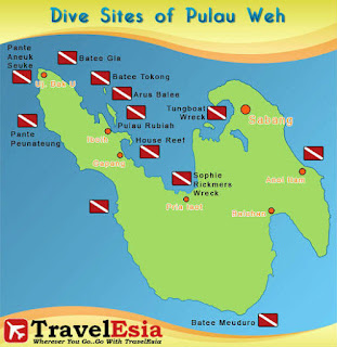 Peta Pulau Sabang