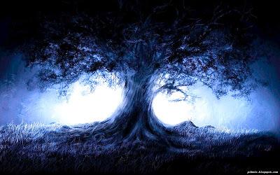 Árbol de Fantasía  Paisaje Nocturno